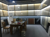 Tuile en céramique de porcelaine de regard de grès d'étage de Foshan 600X600 de céramique (LF66055J)