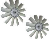 Schrauben-Luftverdichter zerteilt Schaufel-Luft-Kühlvorrichtung-Ventilator-Wasser-Ventilator
