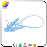 Ropa de secado multifuncional Toalla de ropa de plástico con clip de toalla fija de cuerda