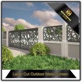 卸売価格装飾的なレーザーの切口のアルミニウム庭の塀およびゲートのパネル