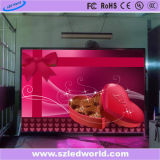 Indicador de parede video Rental interno do diodo emissor de luz da cor P3.91 cheia para anunciar (gabinete 500X1000)