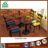 Projetos da tabela de jantar do hotel e da tabela da sala de jantar da cadeira