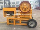 石の粉砕機または砕石機機械か移動式顎粉砕機の価格
