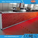 P10는 광고를 위한 색깔 빨간 LED 모듈을 골라낸다