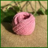 Fit de fibre de jute teintée colorée pour le jardinage