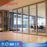 Puerta de la partición de cristal de Guangzhou para el uso de la oficina