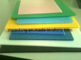 Белого или черного цвета РР полой платы/гофрированный пластиковый лист 1000*2000, 1220*2440 для защиты 2-3 мм
