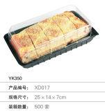 Großhandelsfrischfleischschwarzes Plastikgemüsetellersegment