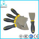 炭素鋼ミラーの磨くペンキの壁のパテナイフ