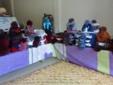 Cirkel Breiende TextielMachine voor Hoeden en Sjaals