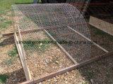 Rete metallica esagonale dell'anti rete fissa del coniglio