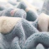 Manta jacquard Micro suave paño grueso y suave del bebé