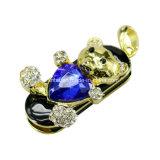 Het Hart van de diamant draagt USB Pendrive de Stok van Juwelen USB