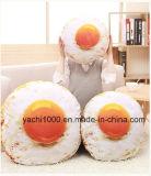 Huevos escalfados extraíble y lavable de Peluche con forma de almohada
