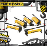 Pompes à main en acier hydrauliques d'Ultima de série initiale d'Enerpac P