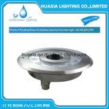 Wasserdichter IP68 12V LED Brunnen des Edelstahl-versieht Licht mit einer Düse