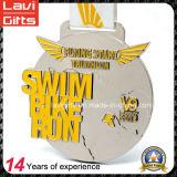 새로운 디자인 주문 수영 자전거 실행 Triathlon 스포츠 메달