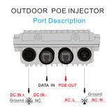Al aire libre 90W solo puerto Poe toma intermedia Apoyo DC / AC Input