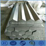 Chrome d'acier inoxydable - barres hexagonales plaquées