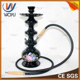 Rokende Pijp van het Glas van de Melasse van de Tabak van Shisha van het aluminium de Vastgestelde