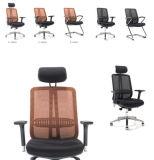 Chaise de bureau exécutif moderne de haute qualité Black White
