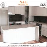 N&L Hermofoil PVCは光沢度の高い現代平らな食器棚を扱う