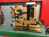 Perfurador e tesoura hidráulicos combinados, máquina do trabalhador de aço (Q35Y-20)