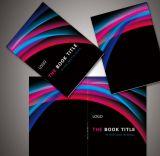 Impression colorée de livre avec le modèle personnalisé