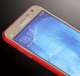 Samsung J7를 위한 매우 호리호리한 반대로 지문 충격 & 찰상 저항하는 뒤 상자