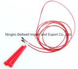 Corda de salto de rolamento de fio de aço inoxidável de alta qualidade