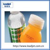 Impresora plástica de la fecha de vencimiento de la botella de la inyección de tinta automática de Leadjet