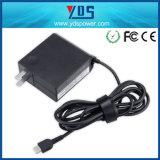 45W 20V 2.25A / 12V 3A / 5V 2A USB Pd Type C Adaptateur de chargeur pour ordinateur portable Lenovo