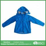 아이를 위한 두건이 있는 스포츠용 잠바 재킷