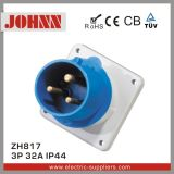IP44 3p 32A 위원회에 의하여 거치되는 산업 플러그