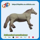 Китай оптового продавца пластиковых лошадь игрушка для детей лошади белого цвета