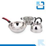 3 pièces en acier inoxydable ustensiles de cuisine Set Pot Cookware Set
