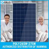 Panneau solaire 265W 270W 275W de picovolte de Q-Cellules poly pour le système de d'éclairage solaire
