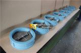 Il tipo valvola di ritenuta della cialda del doppio piatto con l'iso Wras del Ce ha approvato (H77X-10/16)