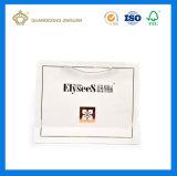 호화스러운 백색 매트에 의하여 인쇄되는 서류상 쇼핑 백 (넓은 면 손잡이에)