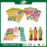 Étiquette de chemise de rétrécissement de PVC de 9 couleurs pour l'emballage de bouteille