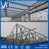 Edifício galvanizado da construção de aço