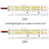 Duplo-Linha tira do UL SMD5050 do diodo emissor de luz de IP68