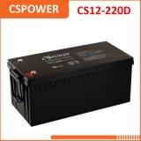 Batterie exempte d'entretien de gel de Cspower 12V 220ah - batterie USP, ENV