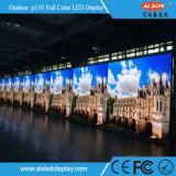 P3.91 pantalla a todo color al aire libre del alquiler LED para la etapa