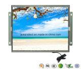 12 LCD van het Frame van de duim de Industriële Open Monitor van de Aanraking met VGA+DVI
