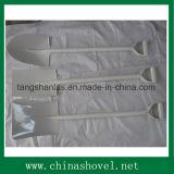 Lo strumento agricolo della pala ha saldato la pala d'acciaio della forcella della maniglia