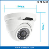 Mini câmara de segurança do IP do ponto de entrada da abóbada 2MP da carcaça do metal