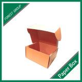 El color anaranjado impresión caja de cartón de embalaje