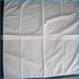Hotel-Bettwäsche-dekorativer weißer Ebenen-Baumwollkissen-Deckel-kundenspezifischer Kissen-Kasten 100%