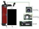元のiPhone 6の置換のための品質によって改装される携帯電話のタッチ画面LCD